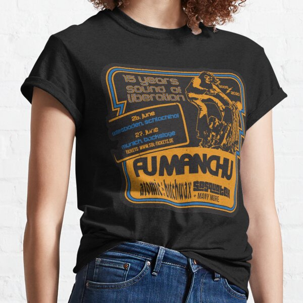 Fu Manchu Classic T-Shirt