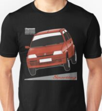 Fiat Cinquecento Sporting red T-Shirt