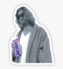 69 cent.  Jeffrey Lebowski shopping for Half & Half Sticker