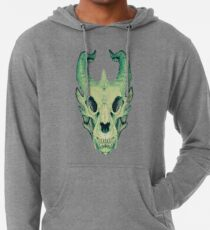 Dragon Skull Lightweight Hoodie