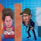 Dilma Rousseff and Obama by StudioDomingos