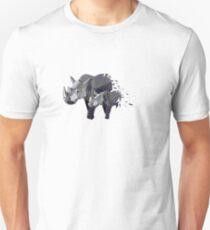 Geometric Marching Rhinos T-Shirt