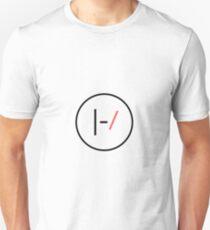 beiliegende Striche Slim Fit T-Shirt