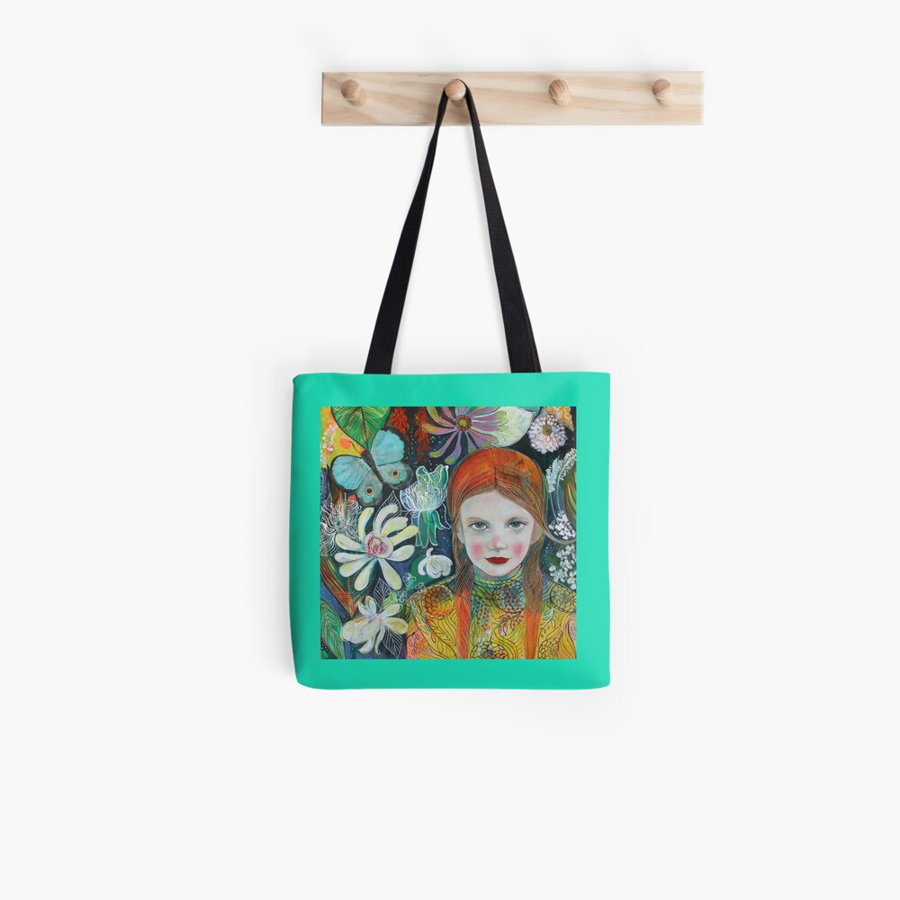 Summer Botanical Tote Bag