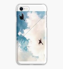 Birds and a Wire iPhone Case/Skin