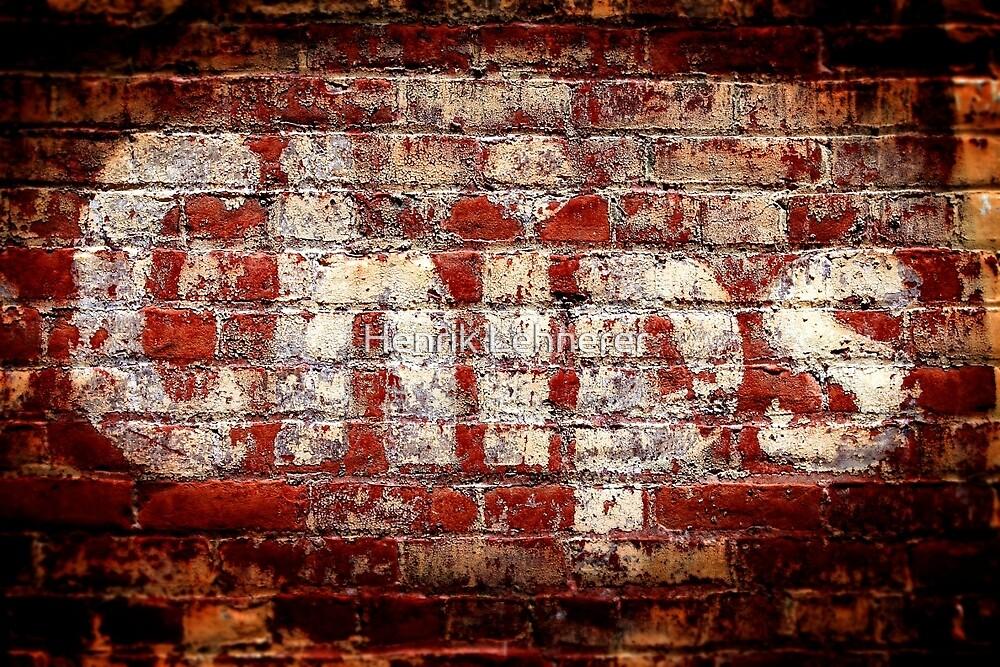 Chips Brick Wall by Henrik Lehnerer