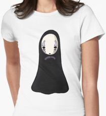 No-face Women's Fitted T-Shirt