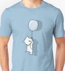Westie Hangs on for that Bone Unisex T-Shirt
