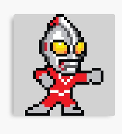 Mega Ultraman Canvas Print