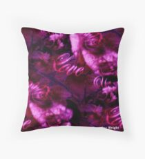 LOVE IS A GIFT Throw Pillow