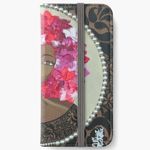 FLOWER BOMB iPhone Wallet