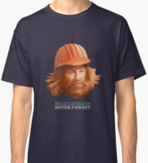 Maelstrom - Never Forget - Construction Worker Classic T-Shirt