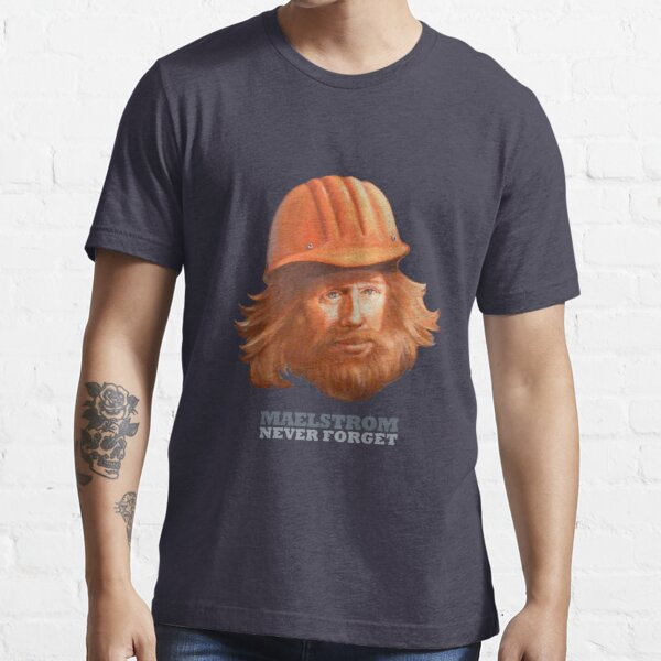 Maelstrom - Never Forget - Construction Worker Essential T-Shirt