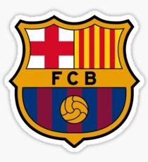 Barcelona logo. Sticker