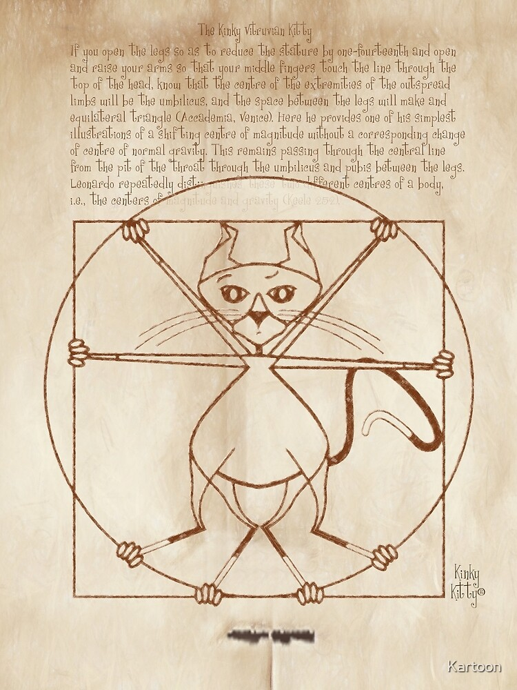 KINKY KITTY - The Kinky Vitruvian Kitty by Kartoon