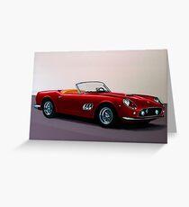 Ferrari 250 GT California Spyder Painting Greeting Card
