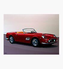 Ferrari 250 GT California Spyder Painting Photographic Print