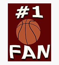 Number One Basketball Fan Photographic Print