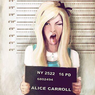 Alice mugshot by adroverart