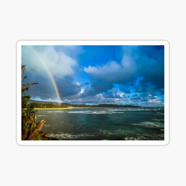 Oahu Bow Sticker