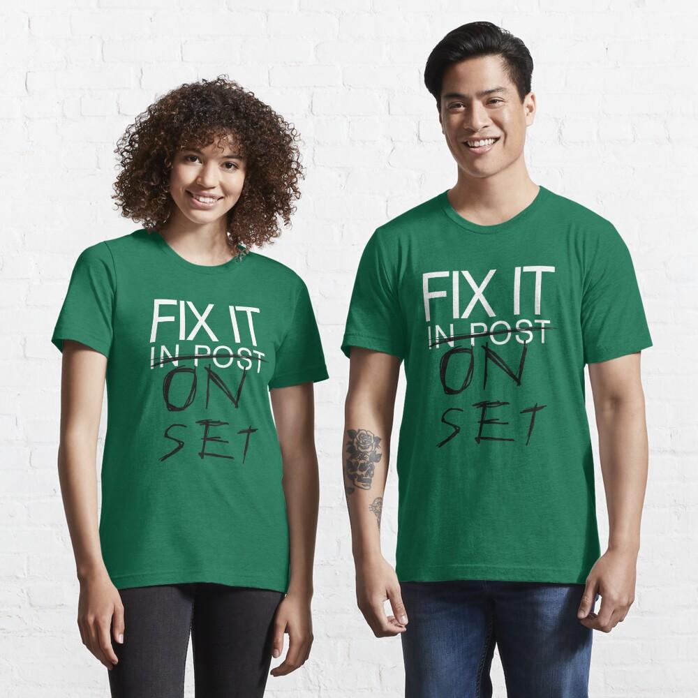 Fix It On Set Essential T-Shirt