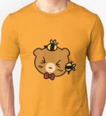 Bumble Bee bear Face T-Shirt