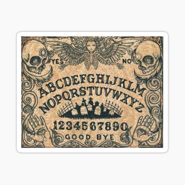 Angel of Death Witch Board Sticker