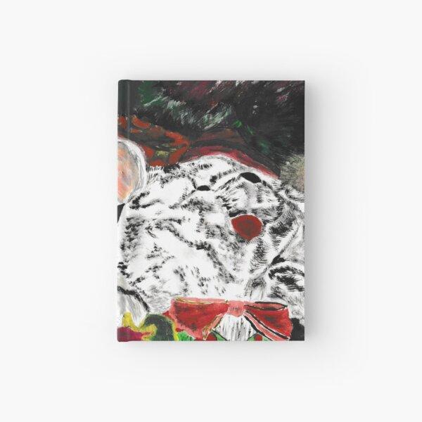 Christmas Baby Acrylic Painting Hardcover Journal