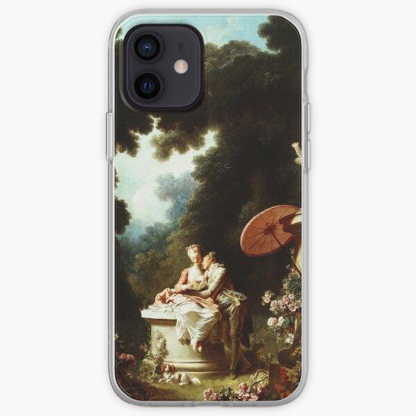 HIGH RESOLUTION The Progress of Love Jean-Honoré Fragonard Painting iPhone Soft Case