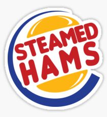 Steamed Hams Sticker