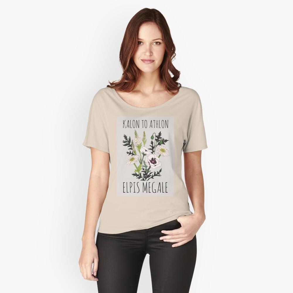 Edel ist der Kampf, Groß ist die Hoffnung Loose Fit T-Shirt