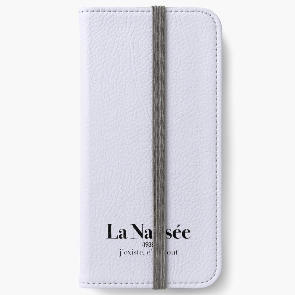 La Nausée iPhone Wallet