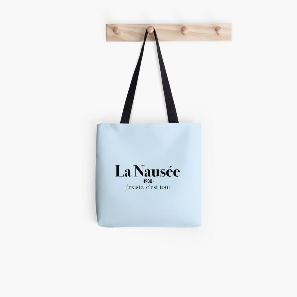 La Nausée Tote Bag