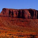 Monument Valley panorama by Nancy Richard