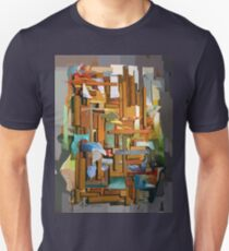 Collage Construct No. 1 Unisex T-Shirt