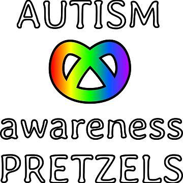 autism awareness pretzels by lhabc