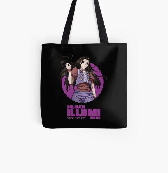 Illumi Zoldyck - T-shirt Hunter x Hunter Tote bag doublé