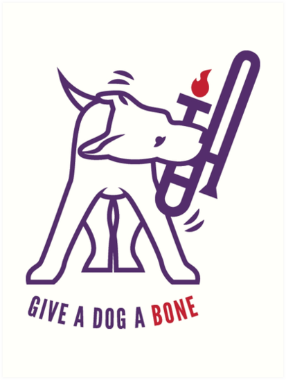 Give A Dog A Bone by Christopher Bill