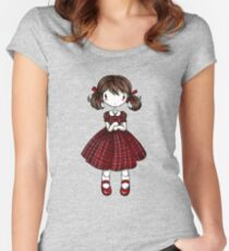 Dana Dollie Women's Fitted Scoop T-Shirt