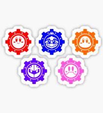 Robobot Gears Sticker Set Sticker