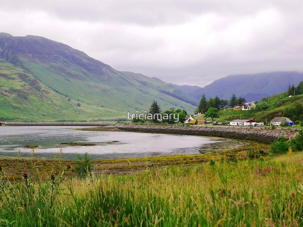 Cove near Invershiel, Scotland by triciamary