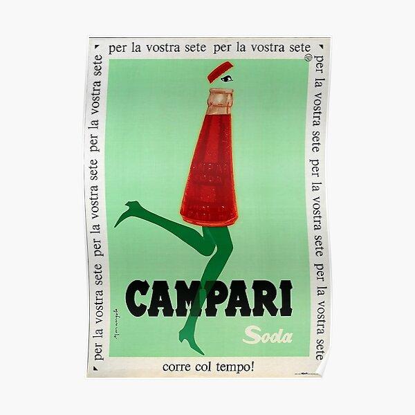 campari soda Poster