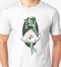 Space Girl Pin up T-Shirt
