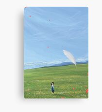 DoA : Feather View (25 left!) Canvas Print