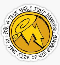 Wahrer Held Sticker