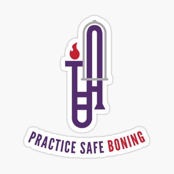 Practice Safe Boning Sticker
