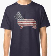 Patriotic Corgi Classic T-Shirt