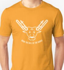 Grab The Bull By The Horns (White) T-Shirt