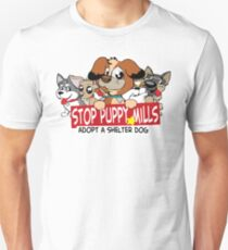 STOP Puppy Mills Unisex T-Shirt