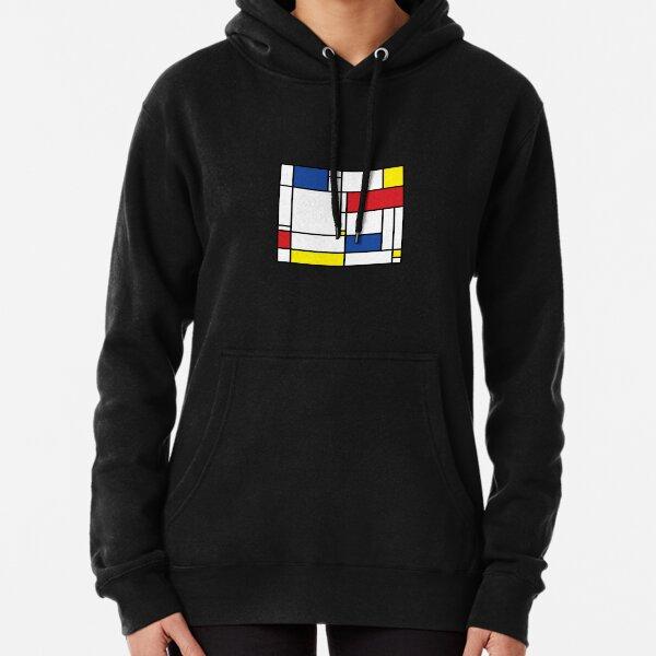 Mondrian Minimalist De Stijl Modern Art  fatfatin Classic TShirt2776 Pullover Hoodie